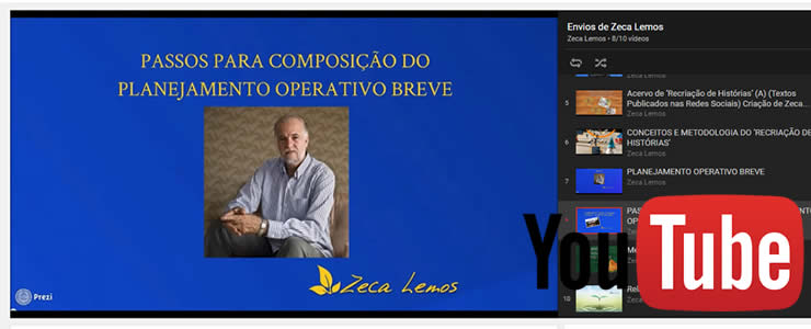 Zeca Lemos - Canal no Youtube
